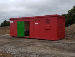 9'x24' Portable Canteen Office